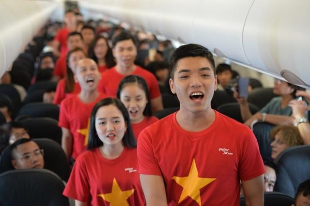 """Bất ngờ với chuyến bay """"Nối vòng tay lớn"""" của Vietjet - Ảnh 3."""