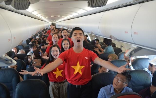 """Bất ngờ với chuyến bay """"Nối vòng tay lớn"""" của Vietjet - Ảnh 4."""