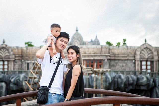 Gia đình Trang Lou – Tùng Sơn khoe ảnh đi chơi công viên giải trí cực đáng yêu - Ảnh 13.