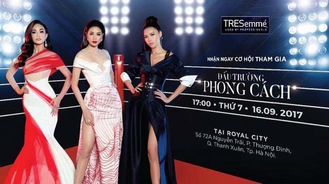 Phạm Hương, Minh Tú, Mâu Thủy đối đầu kịch liệt trong show thời trang có một-không-hai - Ảnh 1.
