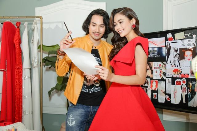 Phạm Hương, Minh Tú, Mâu Thủy đối đầu kịch liệt trong show thời trang có một-không-hai - Ảnh 5.