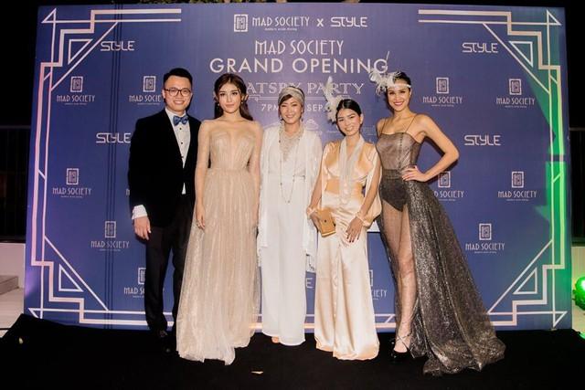 Á hậu Huyền My,siêu mẫu Phương Mai sải bước tại sự kiện Great Gatsby - Ảnh 6.