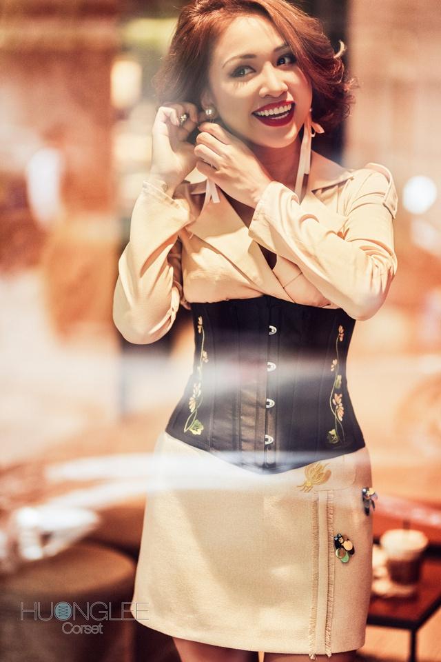 Corset - Xu hướng làm đẹp mới đang lấy lòng nhiều sao Việt - Ảnh 5.