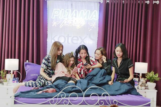 """Sao Việt dễ thương hết cỡ trong """"Pijama Party- Back to school"""" - Ảnh 1."""