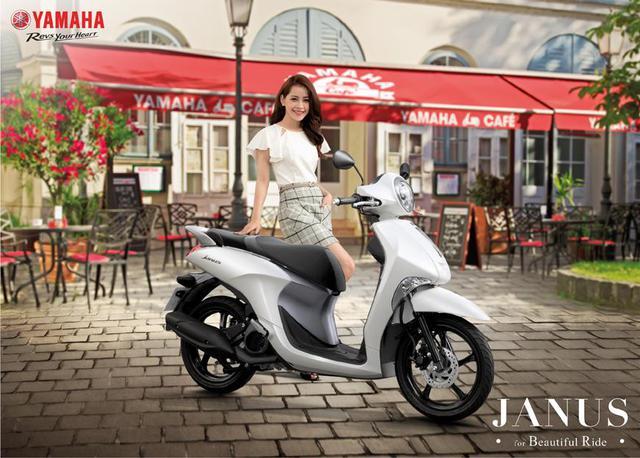 Cận cảnh Yamaha Janus – Mẫu xe tay ga năng động, trẻ trung dành cho sinh viên trước thềm năm học mới - Ảnh 1.