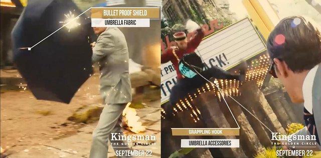 Kingsman: The Golden Circle – Khám phá dàn vũ khí siêu khủng của các đặc vụ - Ảnh 2.