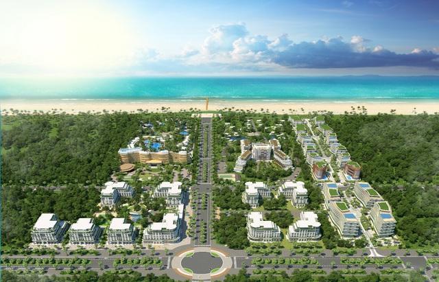 Phối cảnh tổng thể dự án Milton Phú Quốc.