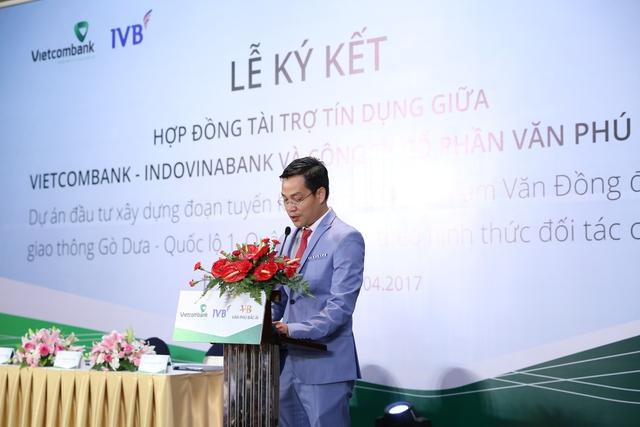 Ông Trần Đức Thắng - Tổng giám đốc công ty Cổ Phần Văn Phú Bắc Ái.