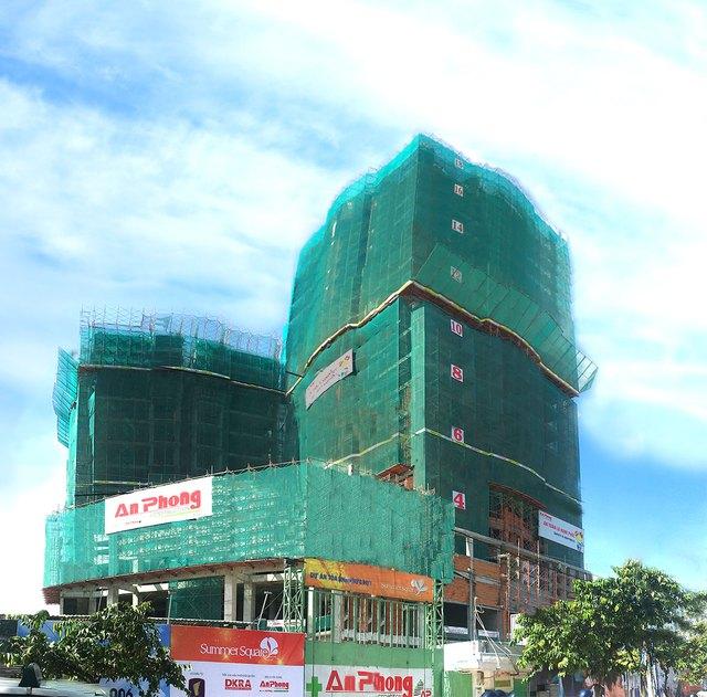 Gotec Land vừa làm lễ cất nóc dự án Summer Square vào ngày 14/4 vừa qua.