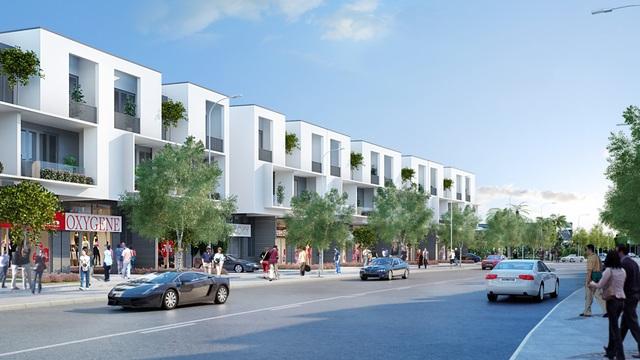 Khu phố thương mại - Khu vực mua sắm hấp dẫn nhất tại dự án Bảo Lộc Capital.
