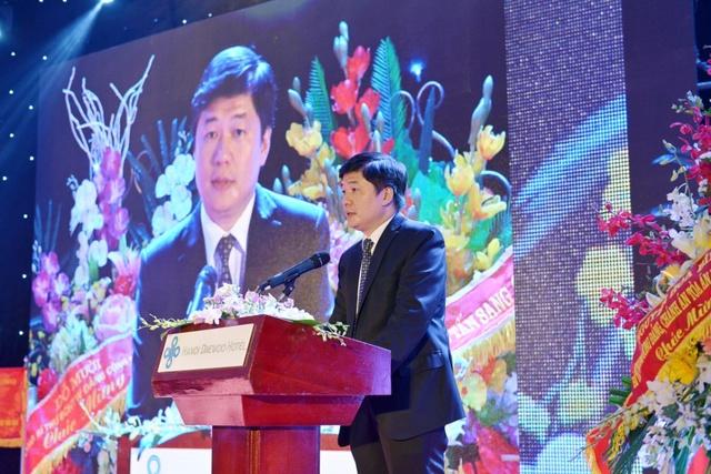 TS.Hà Minh – UVHĐQT, Tổng Giám đốc CONINCO, phát biểu tại buổi lễ.