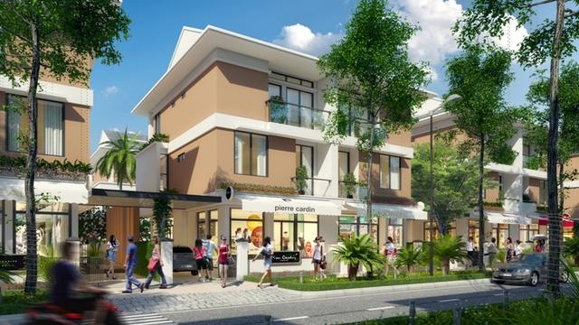 An Phú được quy hoạch là khu biệt thự thương mại với mô hình kết hợp kinh doanh và nhà ở.