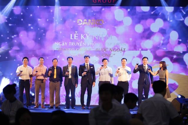 """Lễ kỷ niệm ngày truyền thống Tập đoàn Danko được tổ chức lần đầu tiên với chủ đề """"Danko Group – Bước ngoặt một chặng đường""""."""