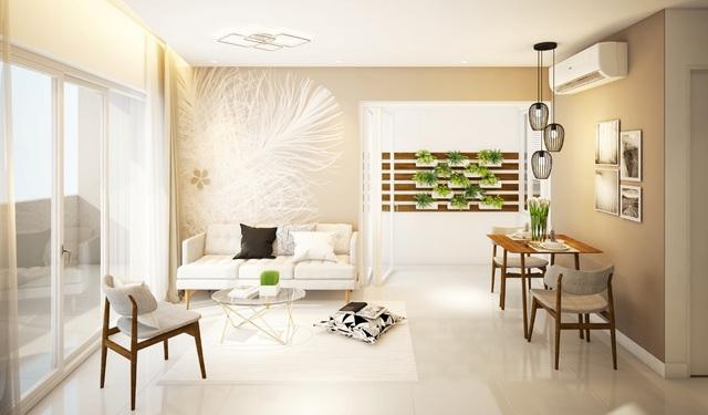 Không gian sang trọng cùng hệ thống nội thất cao cấp tại Summer Square được khách hàng đánh giá cao.