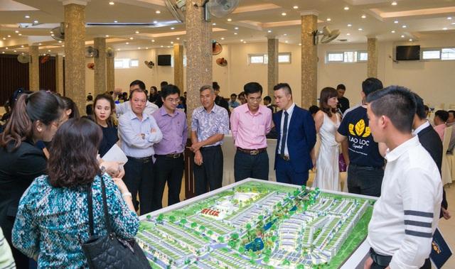 Ông Lê Trọng Tuấn – Phó chủ tịch TP. Bảo Lộc tham dự chương trình giữ chỗ Bảo Lộc Capital.