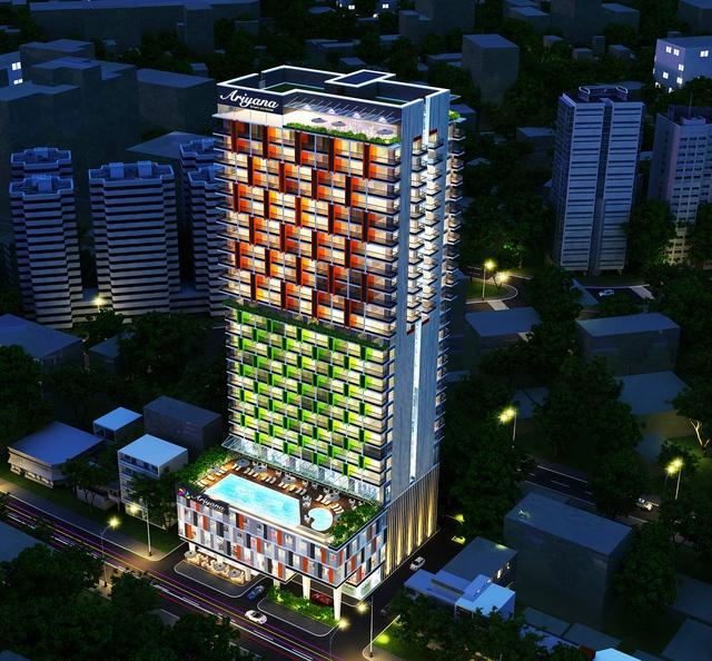 Ariyana Smart Condotel nằm tại mặt tiền con phố Trần Hưng Đạo, một trong những cung đường sầm uất ngay trung tâm thành phố Nha Trang.