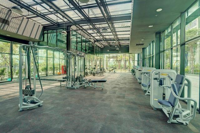 Phòng Gym và Yoga 360* cho cư dân.
