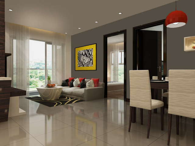 Mỗi căn hộ đều có không gian thoáng mát, thiết kế tiện lợi.