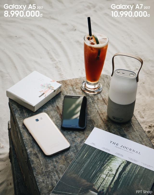 Tháng 5 này, bạn lại được sở hữu ngay Galaxy A5 – A7 2017 mới từ điện thoại Samsung cũ và tiết kiệm đến 3 triệu đồng tại FPT Shop.