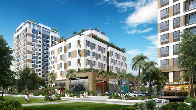Valencia Garden – chốn an cư lý tưởng cho khách hàng đang có nhu cầu tìm kiếm những căn hộ xanh.