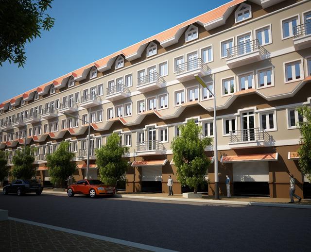 Khách hàng chỉ cần có từ 3,3 tỷ đồng là có thể sở hữu nhà liền kề Đô Nghĩa với phong cách kiến trúc ấn tượng.