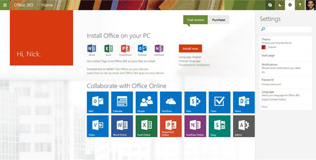 Việc cài đặt, quản trị Office 365 for Business rất đơn giản. Giao diện quản lý, cài đặt trên nền web với những bước hướng dẫn chi tiết cho phép người quản trị dễ dàng làm quen, cài đặt mà không cần nhiều kinh nghiệm. Đối với người dùng cuối, giao diện quen thuộc và đơn giản của Office giúp cho họ sử dụng ngay lập tức mà không phải tìm hiểu nhiều.