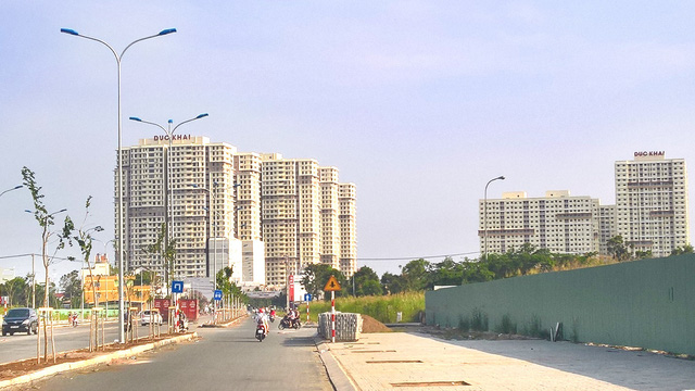 Đường 15B, nối Nguyễn Lương Bằng, chụp ngày 20/04/2017.