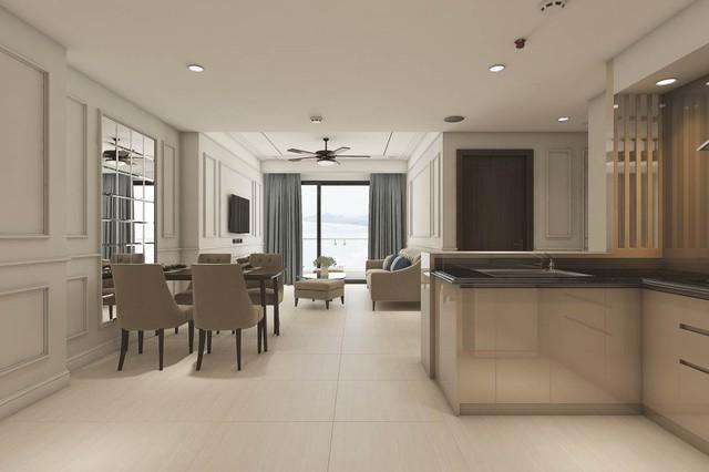 Tất cả các căn hộ Luxury Apartment đều được trang bị đầy đủ nội thất và thiết bị điện tử trước khi bàn giao, vì vậy, chủ sở hữu có thể xách vali đến ở hoặc đưa dự án vào đầu tư ngay lập tức.