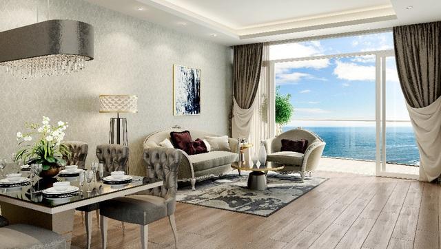 Căn hộ nghỉ dưỡng tiêu chuẩn 5 sao Ariyana Beach Resort & Suites.