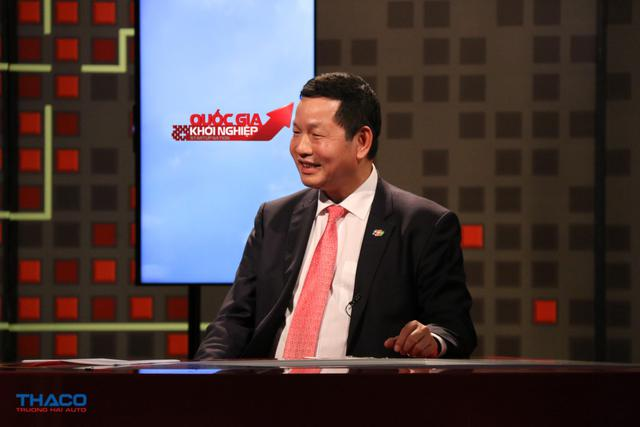 Ông Trương Gia Bình – Chủ tịch tập đoàn FPT tại chương trình Quốc gia Khởi nghiệp phát sóng ngày 14/4/2017.