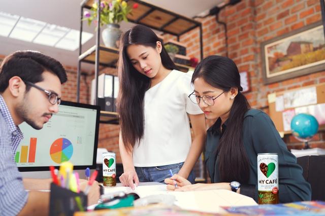 """MyCafé là sản phẩm đươc thiết kế theo thị hiếu mới của người tiêu dùng, đặc biệt dành riêng cho giới trẻ, những người sẵn sàng thay đổi """"cuộc chơi""""."""