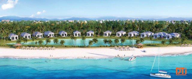 Vinpearl Cửa Hội Resort & Villas sở hữu tầm nhìn 2 trong 1 đặc biệt.