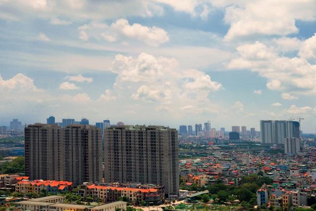 Không gian sống thoáng mát tại chung cư Thông Tấn Xã.
