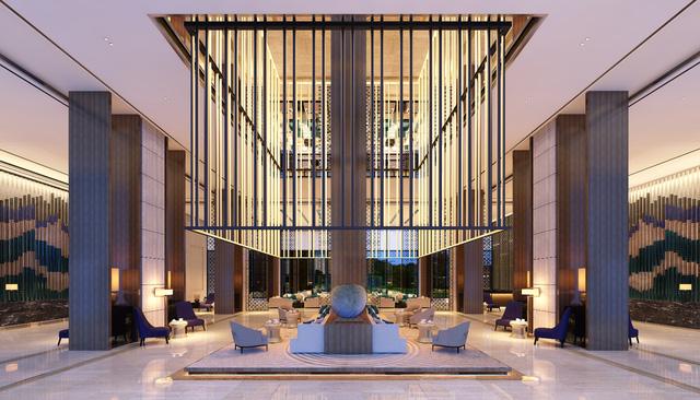 Khu vực Lobby Entry – FLC Grand Hotel.