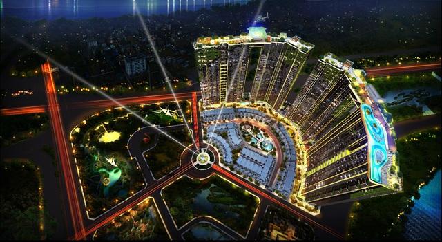 Sunshine City – dự án tâm điểm khu vực KĐT Ciputra, ven sông Hồng.