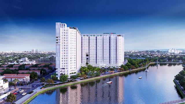 Căn hộ Marina Tower có mức giá dưới 1 tỷ đồng tại Bắc Sài Gòn.