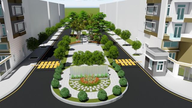 Diện tích nền đất dự án khu dân cư Tân Tạo đa dạng từ 100m2 – 240m2.