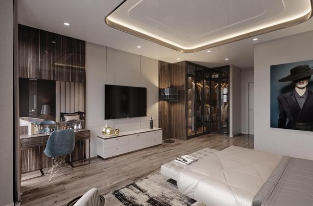 Thiết kế nội thất sang trọng và đẳng cấp đến từng đường nét tại mỗi căn nhà Lakeside Palace.