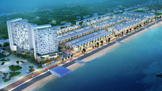 Vietpearl City được phát triển với mục tiêu trở thành trung tâm thương mại – dịch vụ phục vụ đông đảo du khách đến Phan Thiết.
