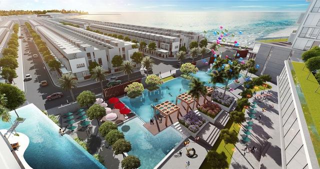 Không gian nghỉ dưỡng lý tưởng của Vietpearl City.