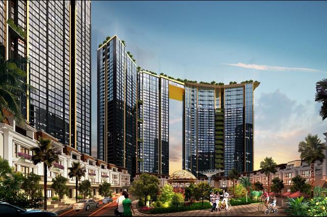 """Sunshine City – """"thành phố nghỉ dưỡng"""" tại Hà Nội."""