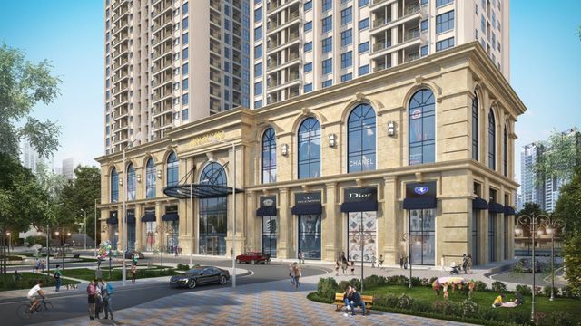 Chung cư cao cấp Sun Tower được bố trí với 3 tầng hầm liên thông. Tầng 1 đến tầng 6 là tổ hợp trung tâm thương mại với những thương hiệu lớn trên thế giới, khu gym, spa, bể bơi, khu vui chơi giải trí...