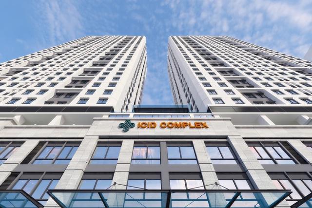 ICID Complex mang phong cách Singapore hiện đại và năng động.