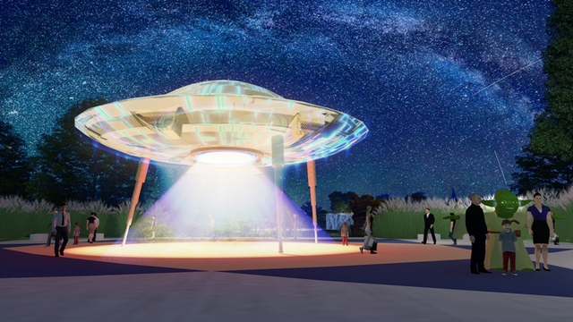 Cư dân An Phú Shop-villa chỉ cần di chuyển vài bước chân để đến Công viên Thiên văn học ngoài trời đầu tiên tại Đông Nam Á.