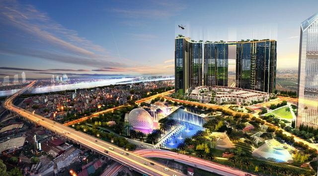 Dự án cao cấp Sunshine City của Tập đoàn Sunshine Group đang thu hút được nhiều sự chú ý của giới đầu tư và kinh doanh BĐS Hà Nội.