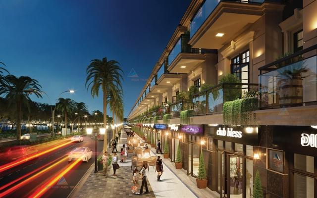 Khu phố kinh doanh nhà phố thương mại Lakeside Palace – điểm đến cho các thương hiệu danh tiếng.