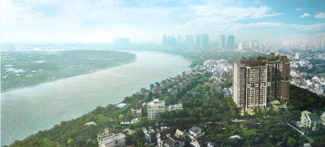 Toàn cảnh dự án d'Edge Thảo Điền.