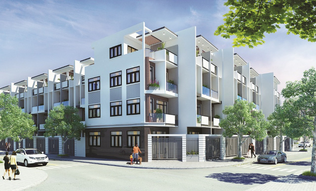 Khu dân cư Đại Phúc River View cũng đã thu hút lượng lớn cư dân về sinh sống. Nhà phố, biệt thự tại dự án này giá khởi điểm chỉ từ 5,7 tỷ/căn.