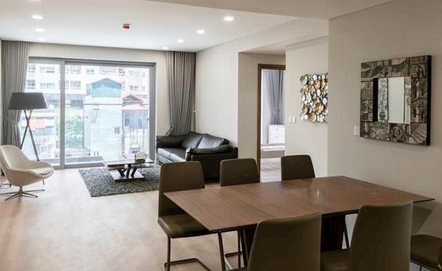 Trước khi cất nóc, Dự án Rivera Park đã khai trương tầng căn hộ thực tế đã gây tiếng vang lớn trên thị trường BĐS Hà Nội