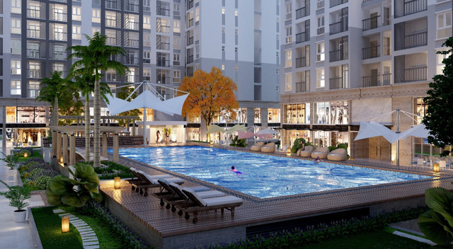 Prosper Plaza sở hữu tiện ích vượt trội, nhưng có giá bán phù hợp chỉ từ 999 triệu/căn.